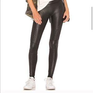 Spanx faux leather Moto leggings small
